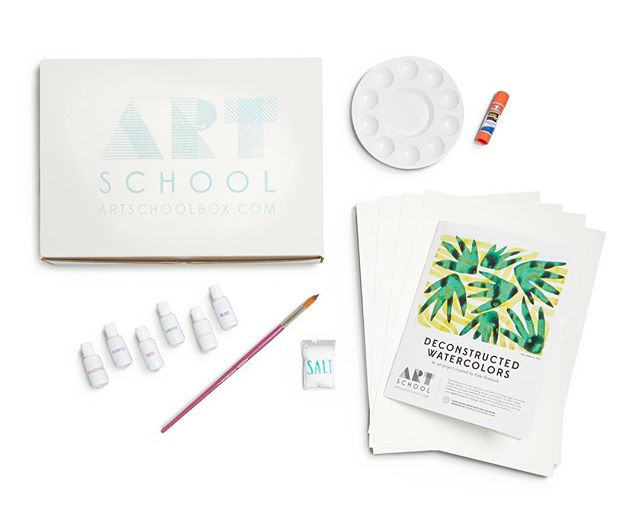 The days in 2017 are running out, and so are our Art School boxes! Here are your deadlines for holiday ordering (and a shout-out to @storefrontstudios for our pretty new photo!): ... Last day to order for December/Christmas shipping is December 18th! Orders placed after this date will ship the first week of January. ... Last-minute shopper? If you're in the Nashville area, we can arrange pick-up at our Berry Hill studio for orders placed through Dec. 23rd (while supplies last)! Message us or email artschooltn@gmail.com for details. ... Gift cards are available at anytime! Starting at just $10, these e-gift cards are an easy way to give Art School and let your recipient decide when to start their subscription. ... Link in bio! #artschoolbox #holidaygifts #artisforeveryone