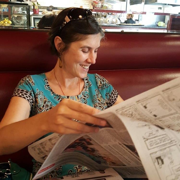 Ibby Caputo, journalist