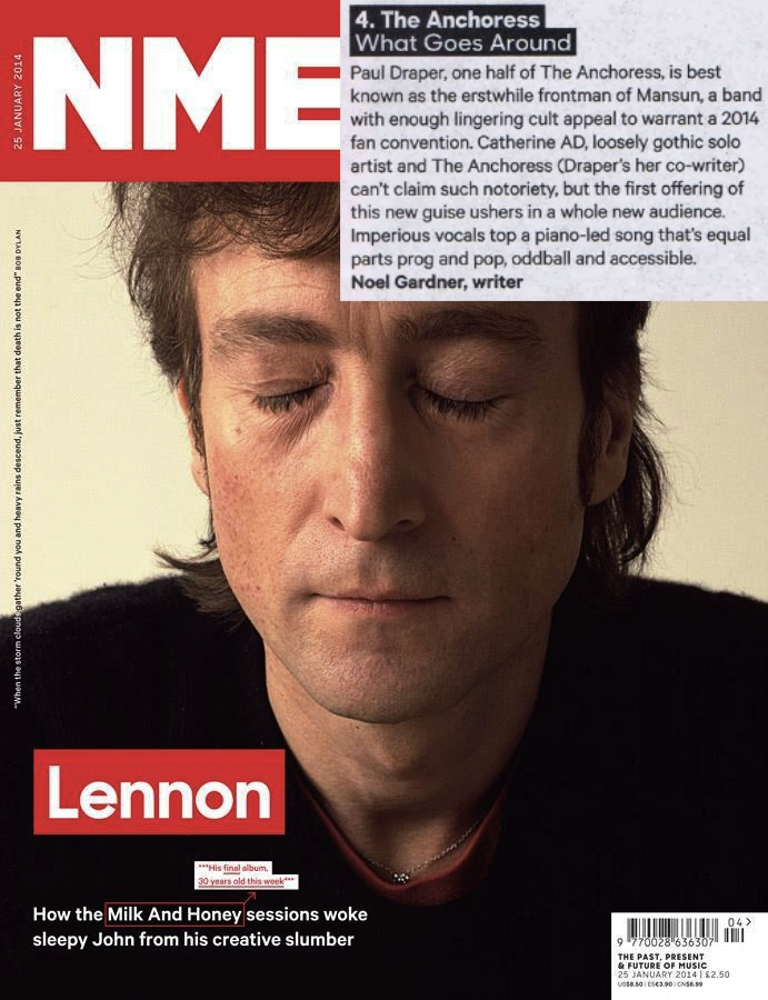 Stream the debut single and hear what NME had to say about it in this week's issue  http://www.nme.com/reviews/various-artists/15039?recache928335815715
