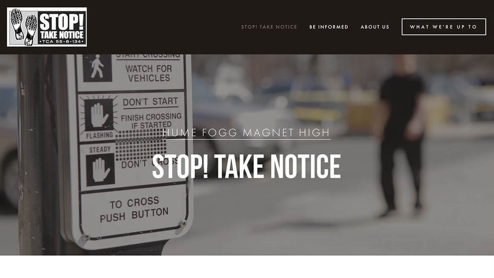 STOP! Take Notice