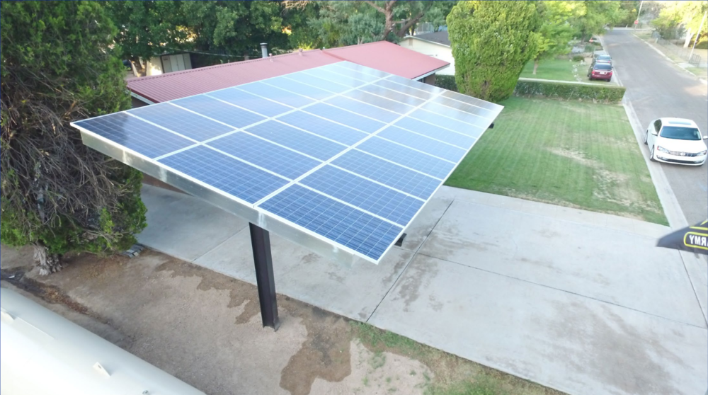 Tucson Residential Canopy (8.55 kW)