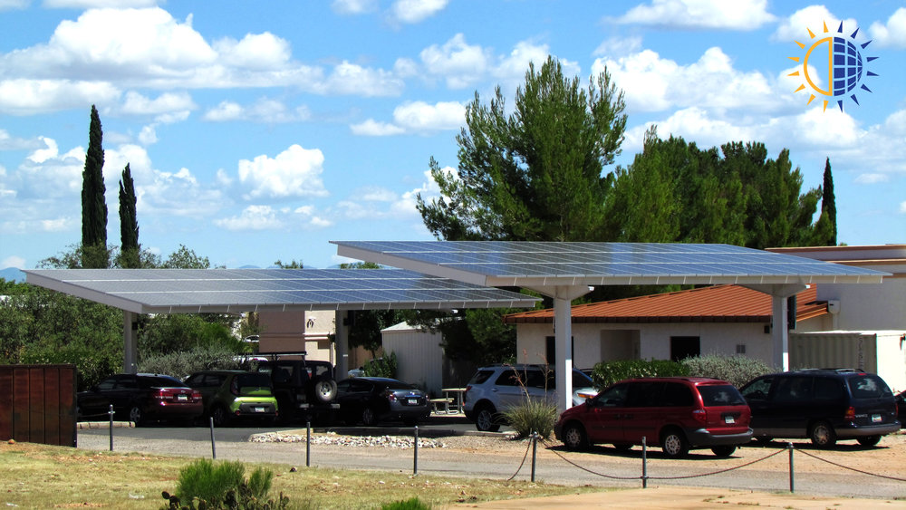 Cochise-Dermatology-Parking-Canopy & Commercial Projects u2014 Solar Gain Inc.