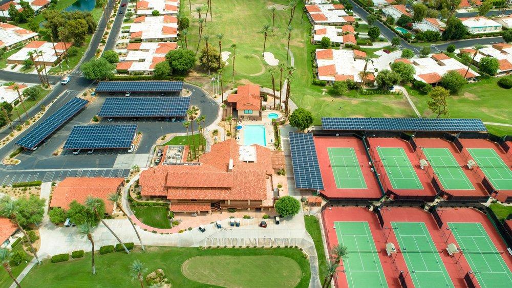 Sunrise Country Club Solar Gain