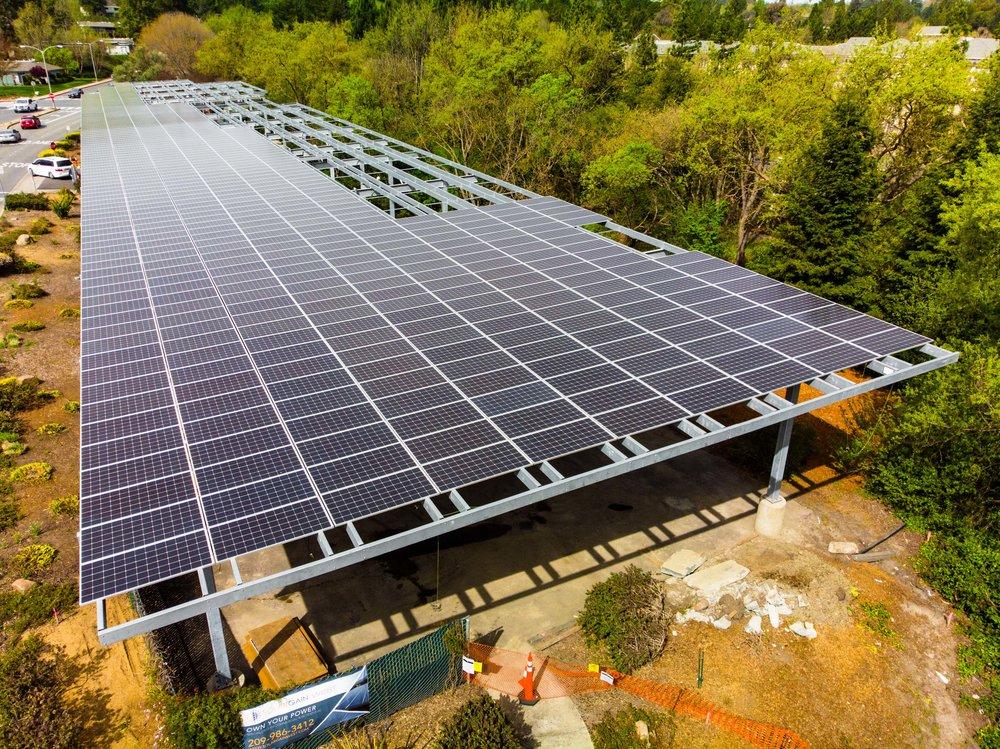 Waterford Solar Gain, In Progress
