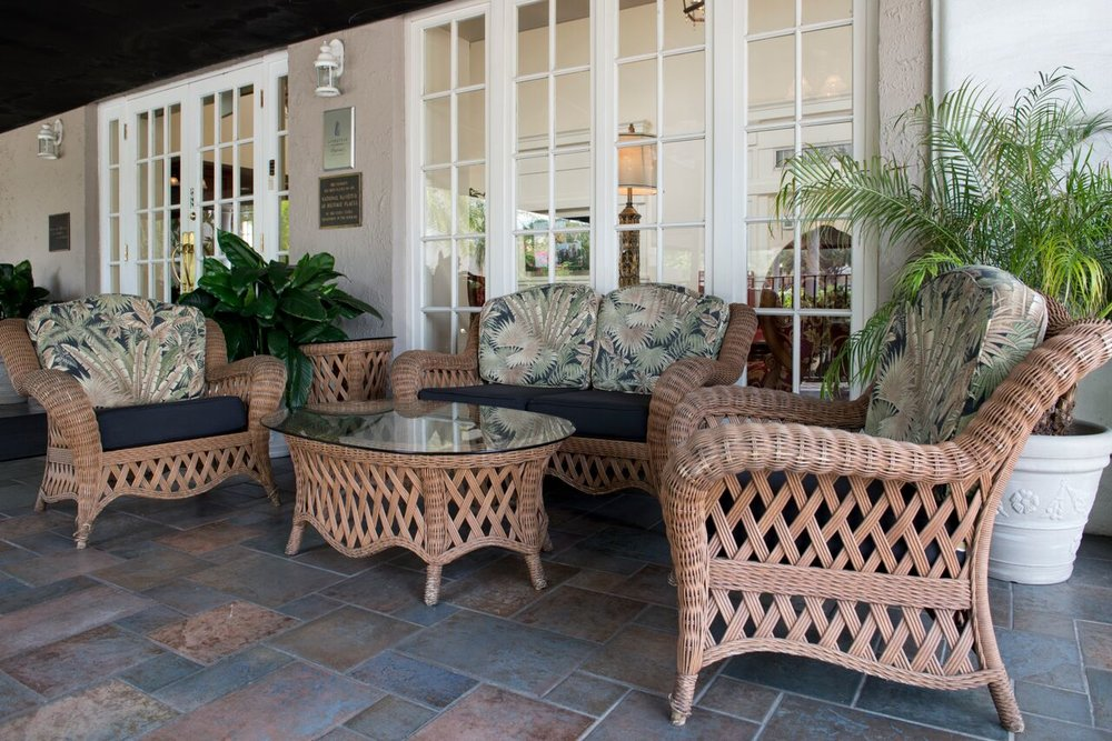 The Terrace Hotel porch