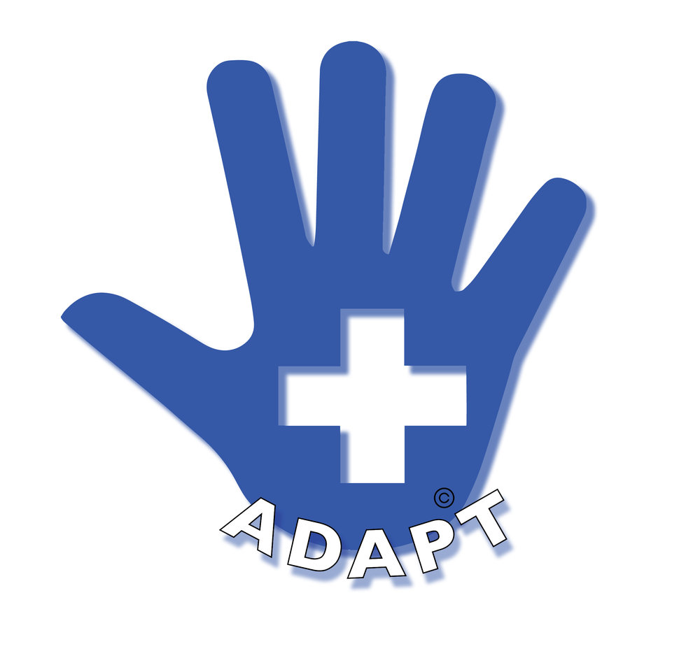 """""""Adapt"""" Logo designed by Rosary Solimanto"""
