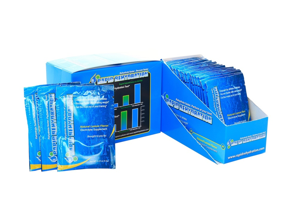 Rapid Rehydration™   A low-calorie, high-electrolyte rehydration beverage   Buy Now
