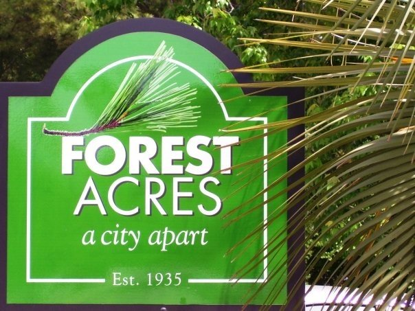 The neighborhood (and city) of Forest Acres