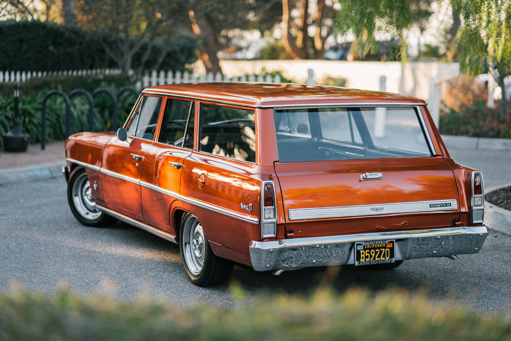 1967 Chevrolet Nova Wagon Courtney Cutchen Photography