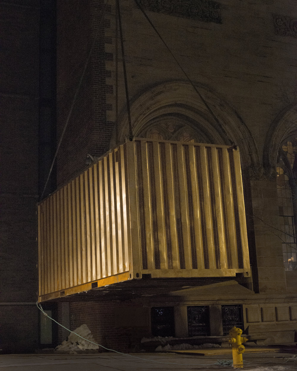 Portal Being Installed At Yale University Art Gallery in February 2015. Credit_ Elizabeth Bick for Shared_Studios.jpg