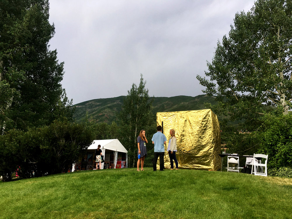 Portal Tent at the 2016 Aspen Ideas Festival