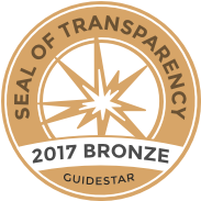 Outrageous Love is recognized for our transparency with a Bronze Seal. - Bronze Seal recipients are in the top two percent of all non profits and you can trust your donations will be well spent. GuideStar is the world's largest source of information on nonprofit organizations. More than 8 million visitors per year and a network of 200+ partners use GuideStar data to grow support for nonprofits.