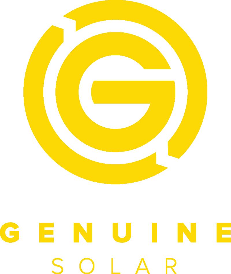 Genuine Solar Panels Logo
