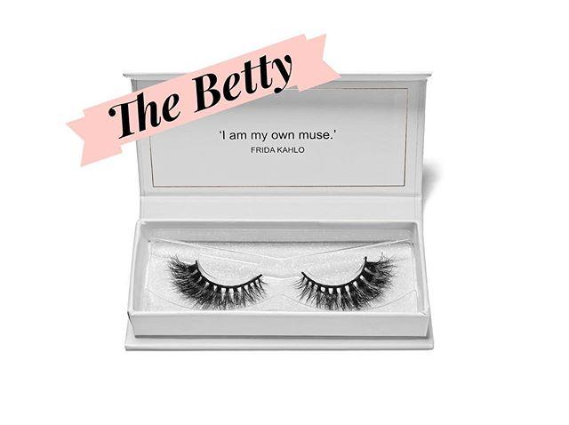 Named after my mom, The Betty! #saralindsaylash #lashes #3dminklash #minklash #crueltyfree