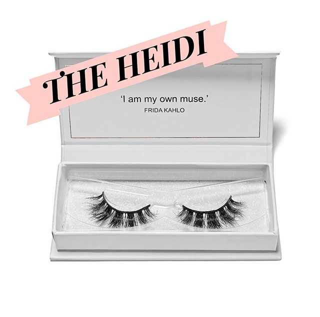 | THE HEIDI | Named after my sister, these gorgeous lashes have a flirty, dolly look! #saralindsaylash #lashes #3dminklash #crueltyfree
