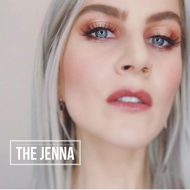 | THE JENNA LASH | Available at - @saralindsaythemakeupstore - @philocalyhair - @queenvfashionhouse  #saralindsaylash #3dminklashes #lashes #minklashes @jlynkress
