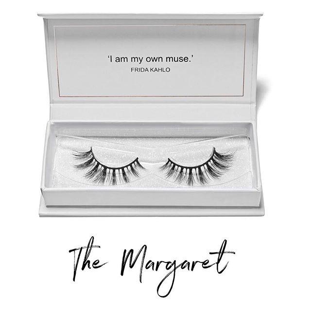 | THE MARGARET | A wispy and natural style perfect for a bridal look! #saralindsaylash #minklashes #minklash #lashes #weddinglashes