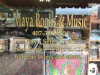 Maya Books & Music If you're looking for a rad place to pick up reading and listening material in Sanford