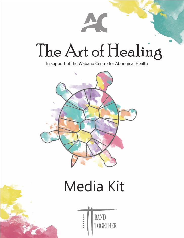 Art of Healing poster and branding