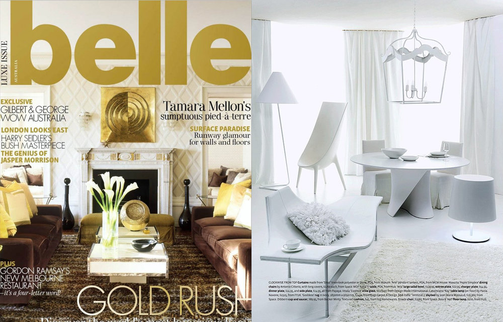Belle Magazine - Jun/Jul 2010