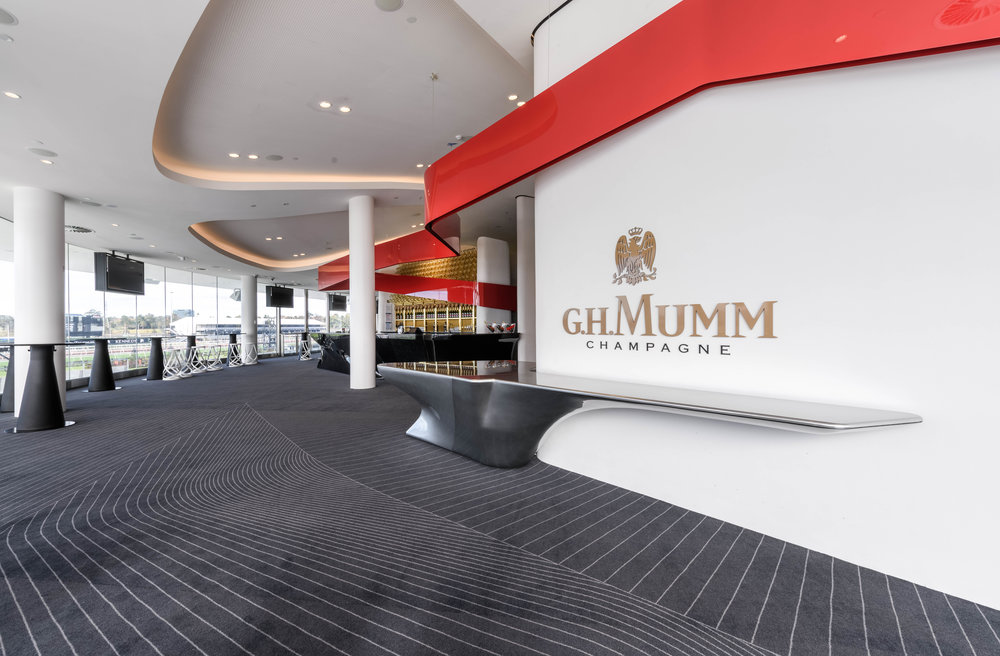Mumm Champagne Bar  READ MORE