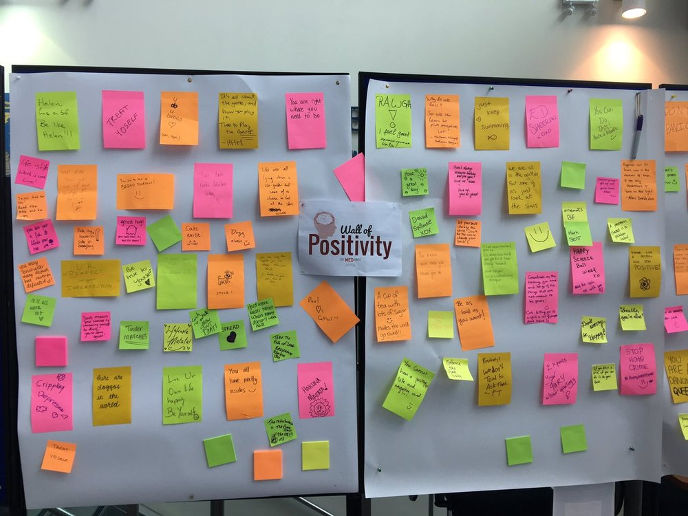 AMSI-TCD - Our Med Minds Positivity Wall