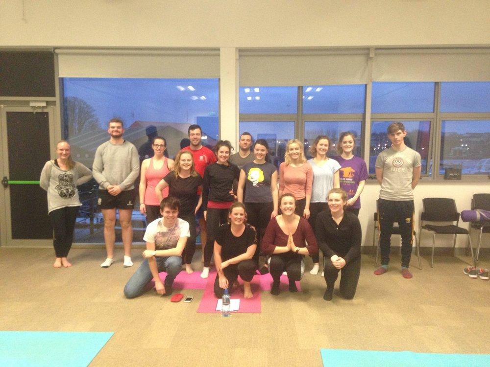 AMSI-NUIG Free Yoga with Dearbhla McMahon