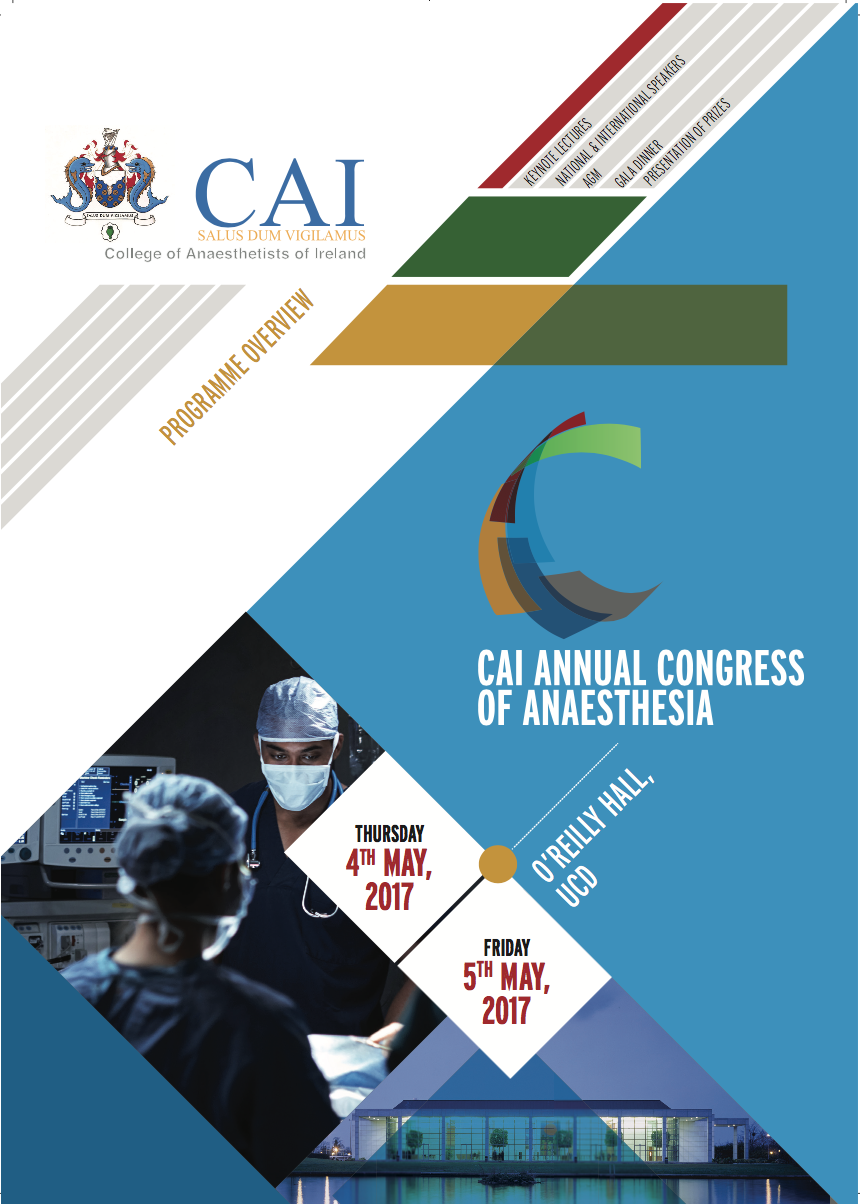 Conferences Events Ireland The Association Of Medical Students Frame Ucc Competitor 20 President And Council College Anaesthetists Welcome All Delegates To Annual Congress Anaesthesia 2017