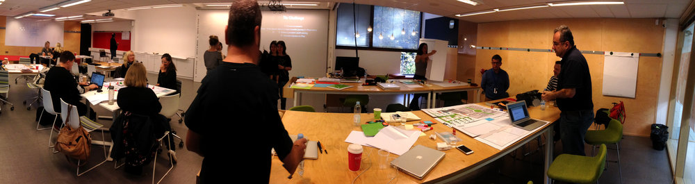 Panorâmica Workshop IoT Service Design Futurice