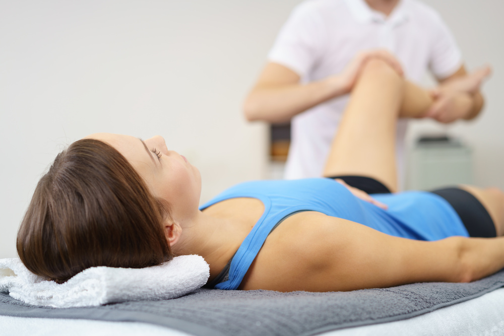 Rider physiotherapy