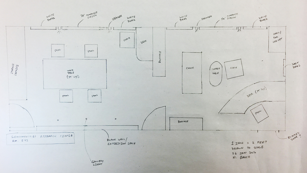 Layout of the Experimental Geography Studio