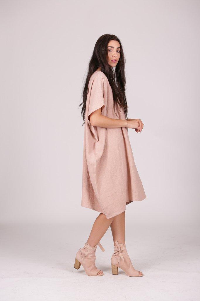 The Kaitlin Dress from  Eva's Sunday  $210. IG: @evassunday