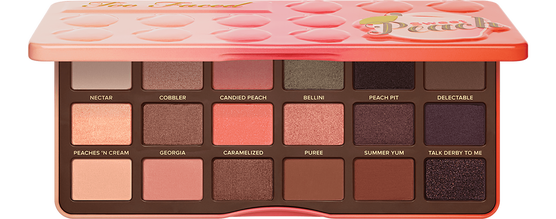 This Sweet Peach Palette from Too Faced Makeup is to die for. I own this and I highly recommend it! It has all the colours a girl could need. Find it  here.