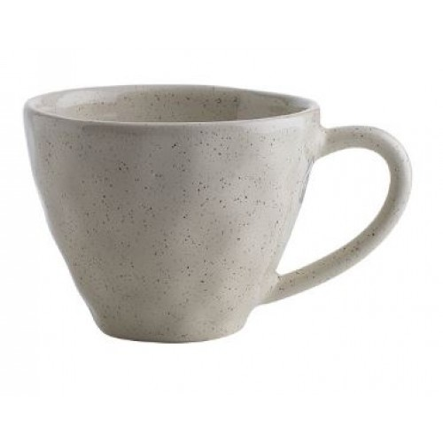 Ecology mugs. These are the Oatmeal colour in speckle. They are actually a really great size and I love my straight white mugs that are the same. I haven't been able to find the straight white ones since I purchased them which is disappointing since I broke one and have three left. Get there  here.