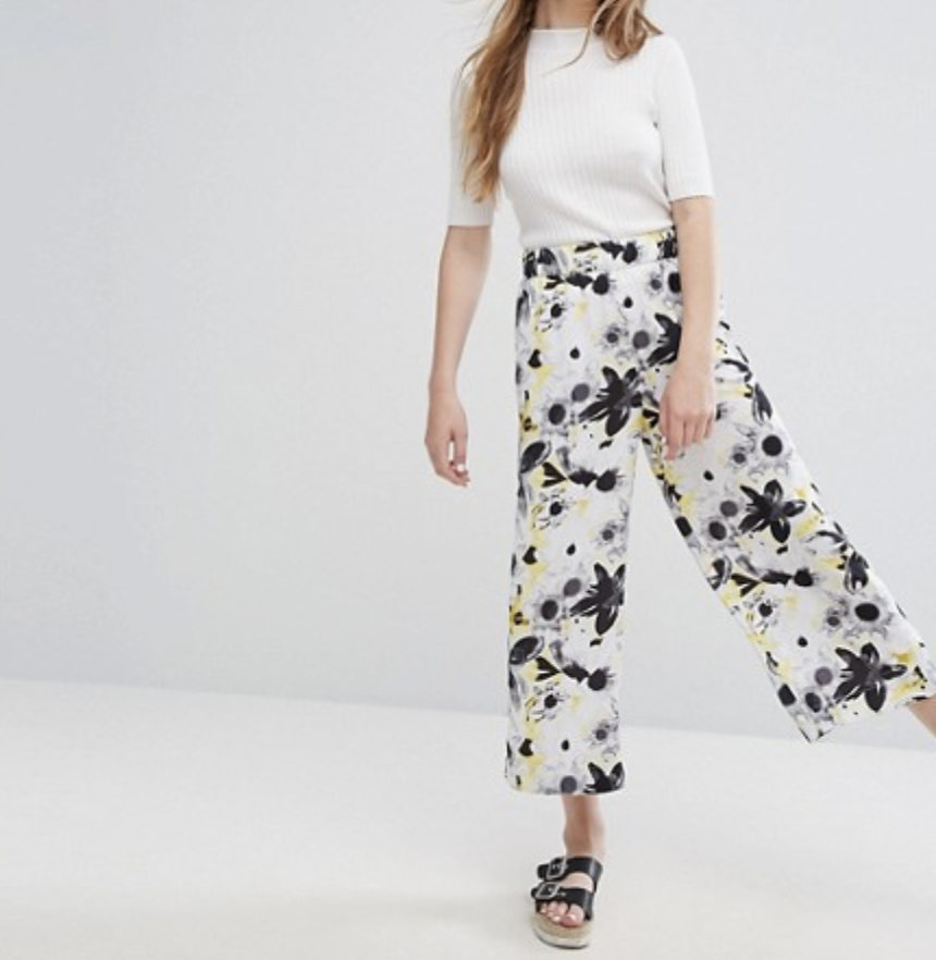 Palazzo Pants are in. These are from ASOS.
