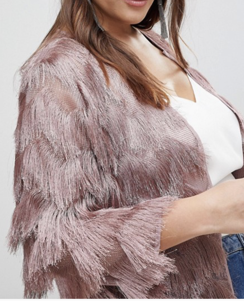 Fringe / Tassel is in. Who doesn't love a good fringe? Get it from ASOS  here.