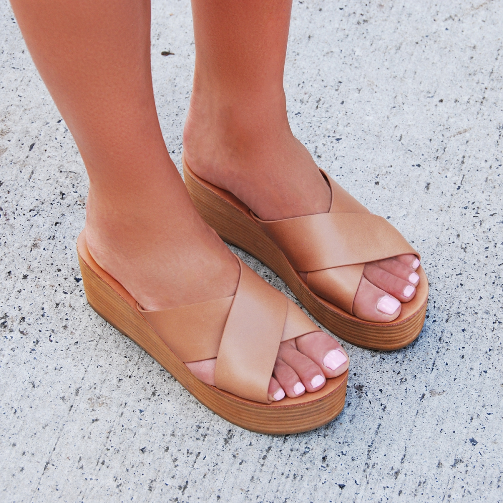 Yep. Two pairs of shoes, and from the SAME store! You can't go past these Flare Wedge Sandals. I love shoes. Get them   here .