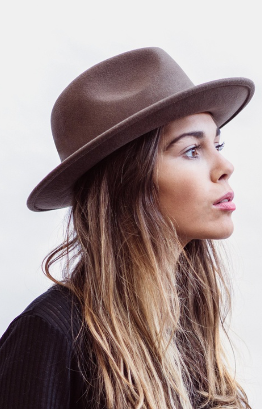 William brown hat by Will and Bear.