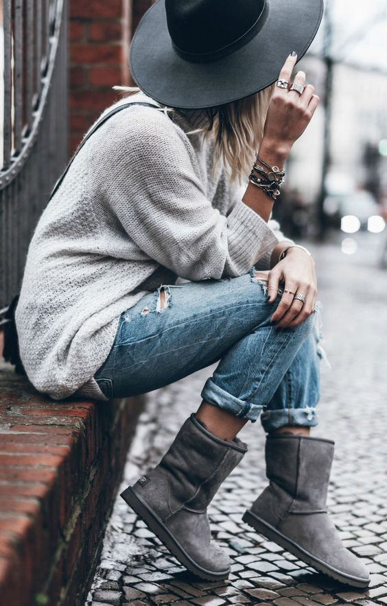Ugg Boots are my one little piece of home that I can take with me anywhere. Find some  here.