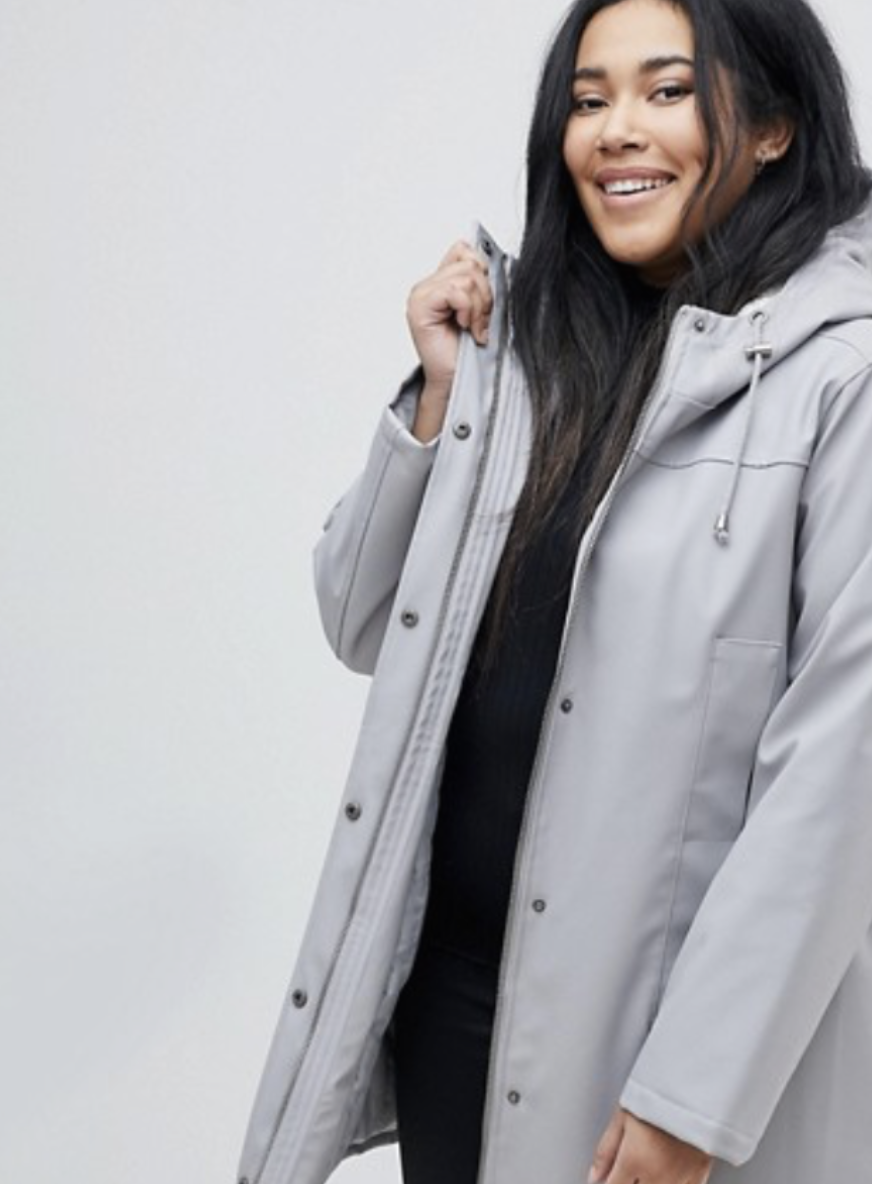 This raincoat from ASOS also featured in my last style finds, but this is the grey. Find it  here.