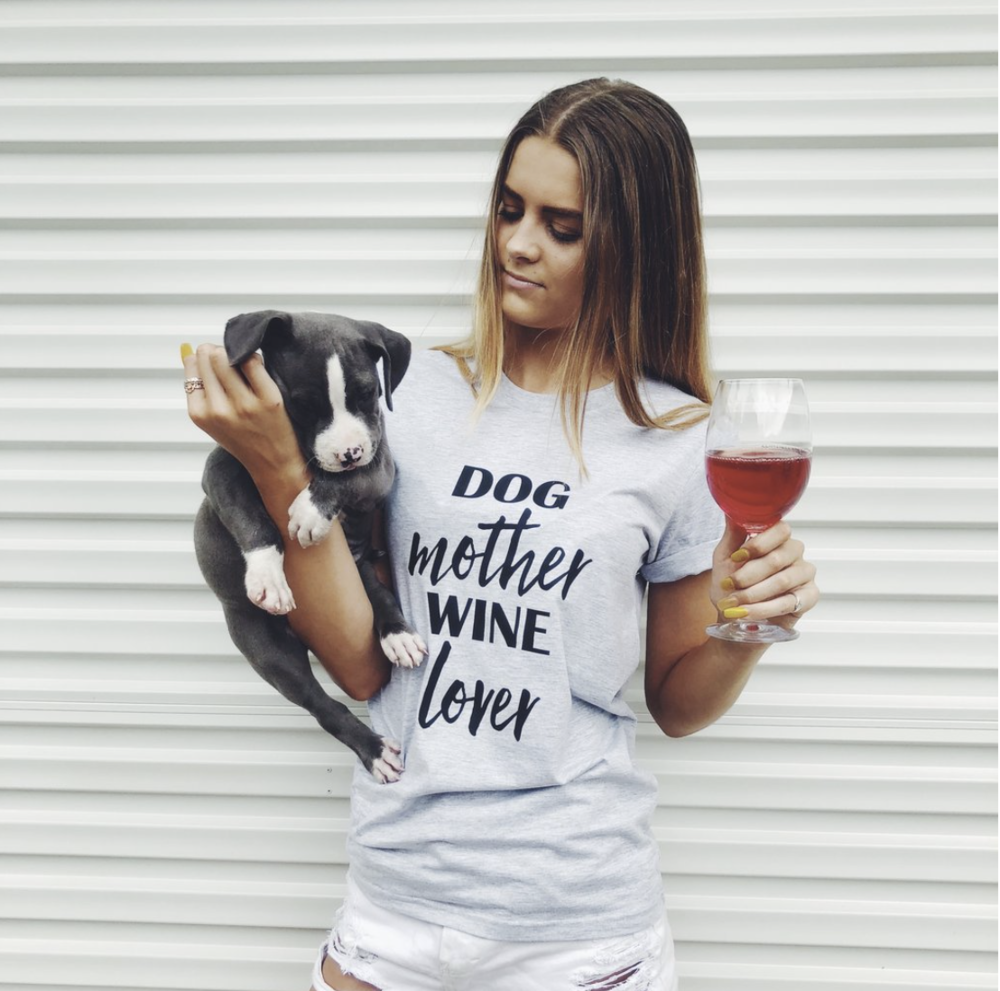 Find this and other amazing shirts from  The Dog Mum.  From $35