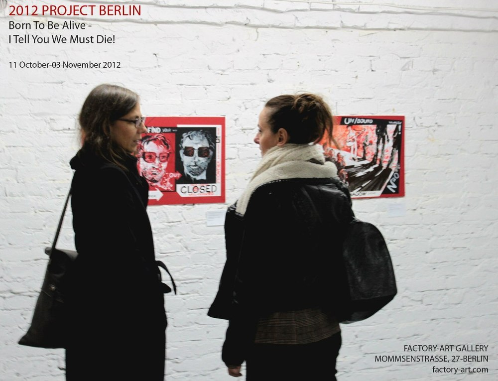 October 2012    —   exhibition in Berlin, Factory-Art Gallery (2012 PROJECT BERLIN, the line of works «Shadows»)
