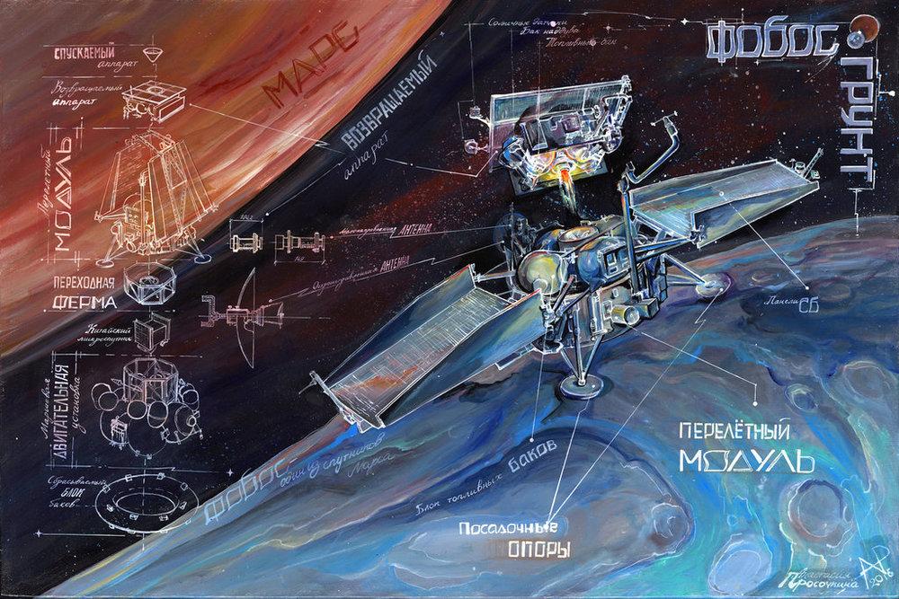 'Fobos Grunt' Satellite