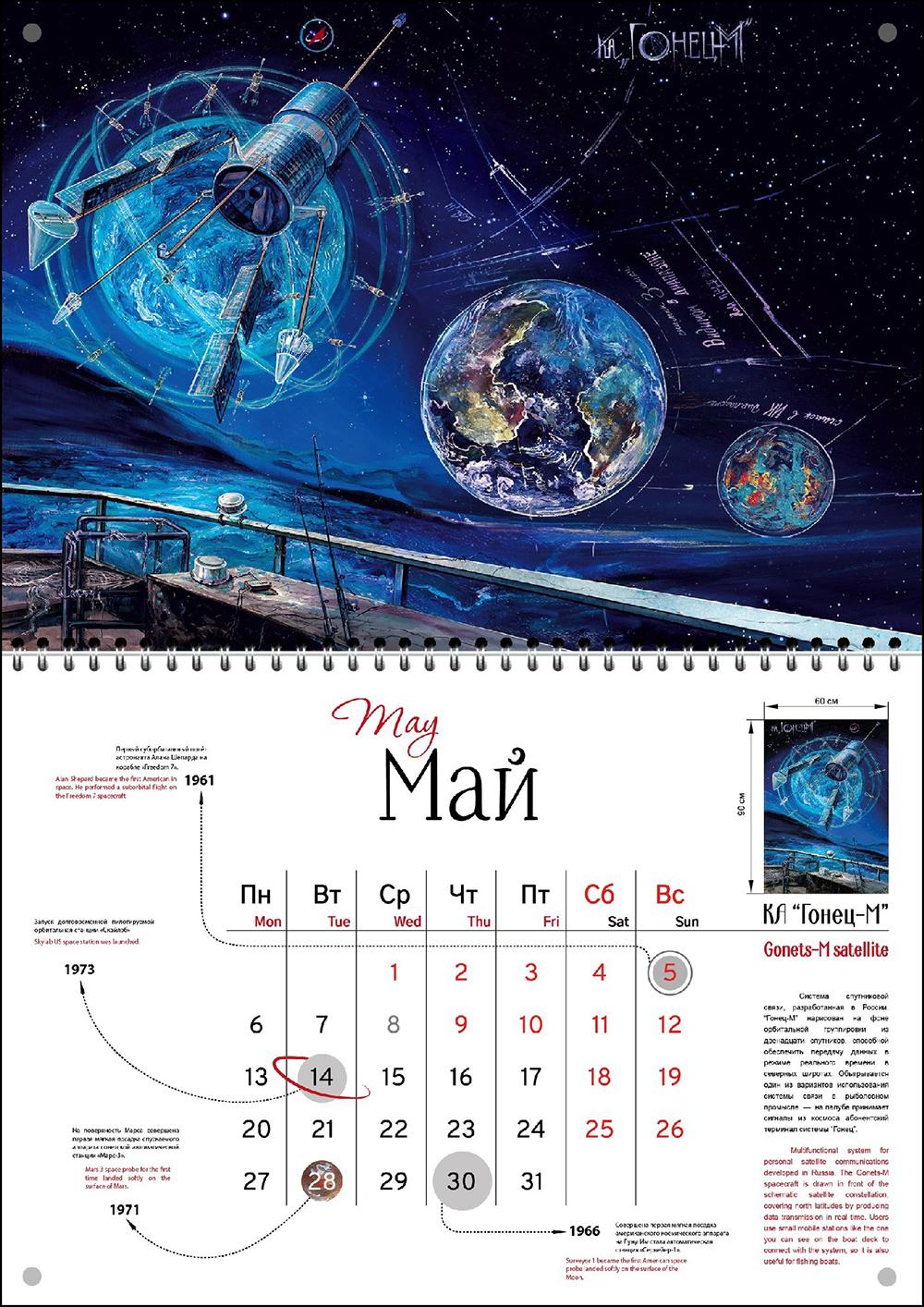 """""""Gonets-M Satellite"""""""