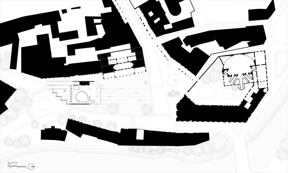 nolli plan piano nobile