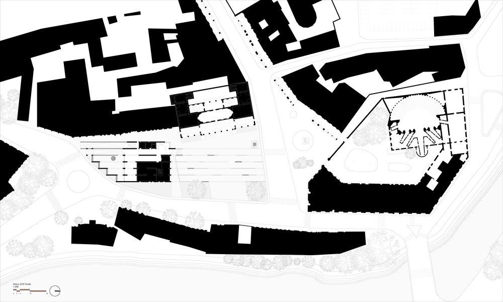Ground Floor Nolli Plan