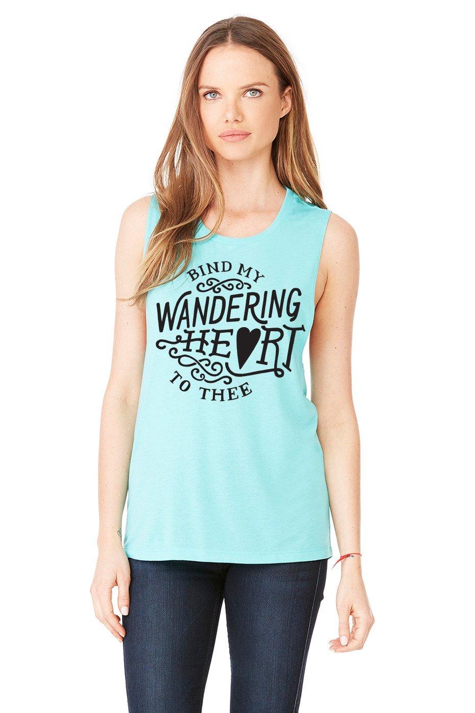 Bind My Wandering Heart Muscle Tank