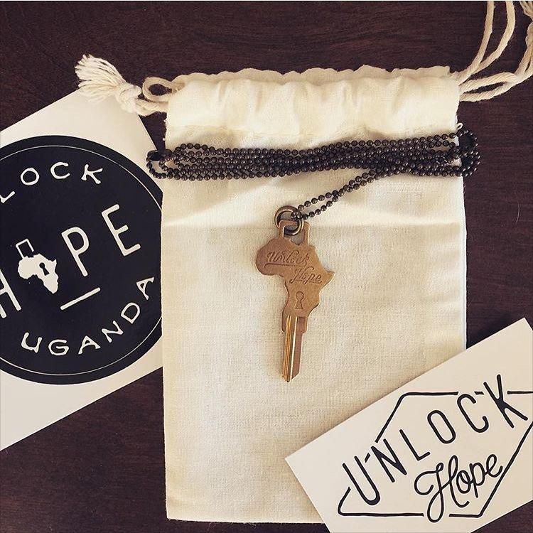 Africa Key Necklace