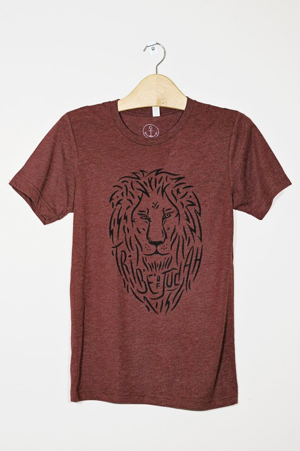 Tribe of Judah Lion Tee - Hope Outfitters