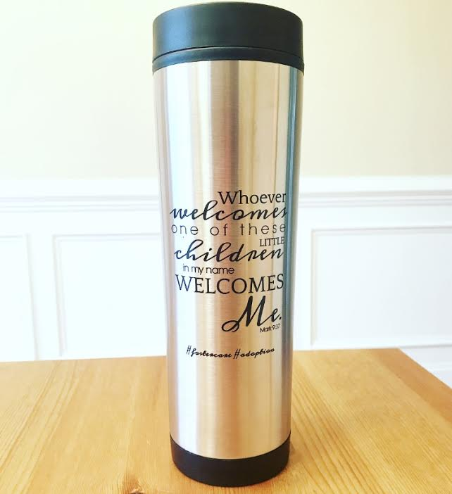 foster mom travel mug